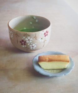 サクラ さくら咲く 桜 満開 茶碗 抹茶 抹茶碗 茶道 茶道具 原清和 清和窯 清和陶苑